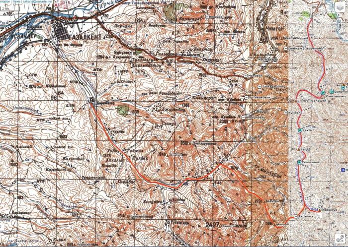 Узбекистан маршрут